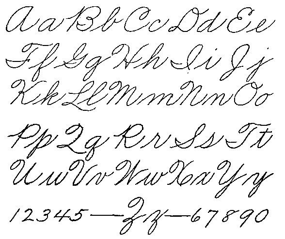 old cursive writing American cursive is a practical system of handwriting based on the palmer method and is great for everyday use like writing in your journal, writing a letter, or even writing law school exam.