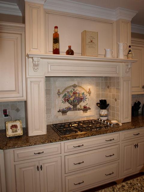 Beautiful Backsplash... Could Use An Interchangeable Backsplash Like  Www.kitchenpalettedesigns.com