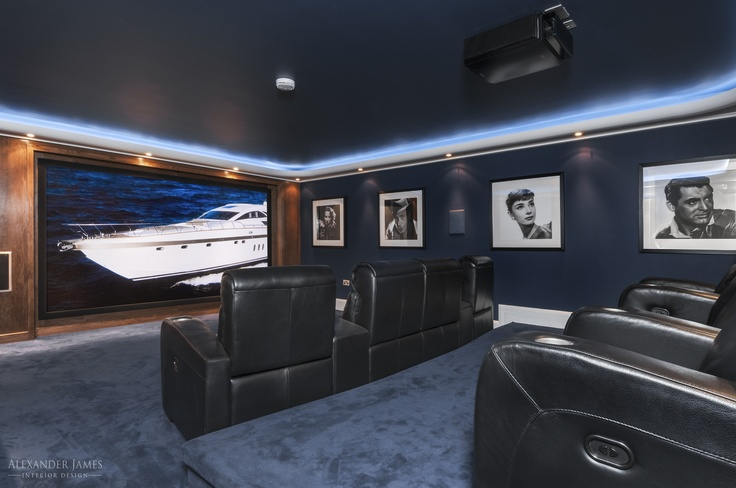We weren't joking when we said top-class facilities. #Cinema at the ready. #interiors #design #home