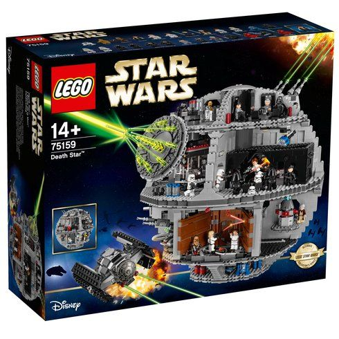 Superb LEGO 75159 Star Wars Death Star Now At Smyths Toys UK! Buy Online Or Collect At Your Local Smyths Store! We Stock A Great Range Of LEGO Star Wars At Great Prices.