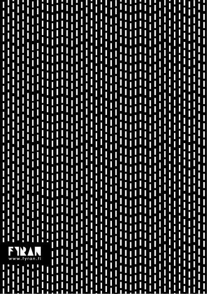 Mönsterkollektivet FYRAN / Pattern / Regnskur