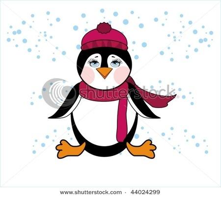 Penquin card making pinterest penguins clip art and for Penguin christmas cards homemade