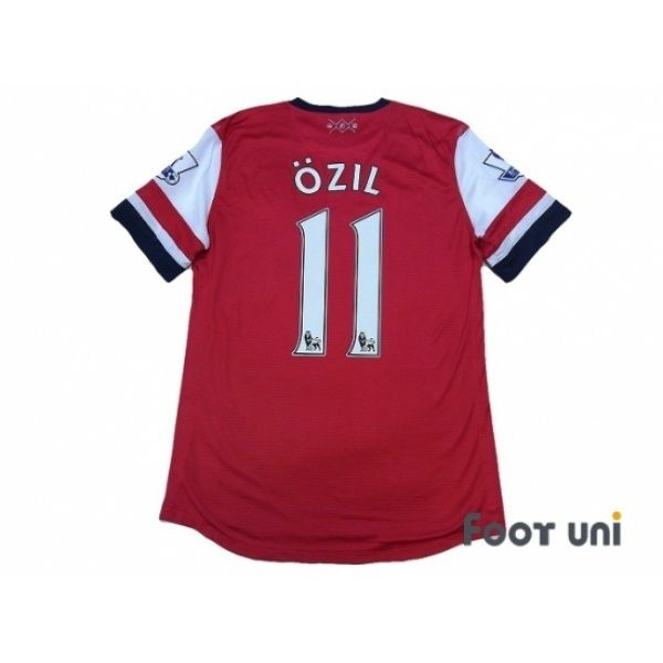 quality design 5f60f 57fb2 Arsenal 2012-2013 Home Authentic Shirt #11 Ozil BARCLAYS ...