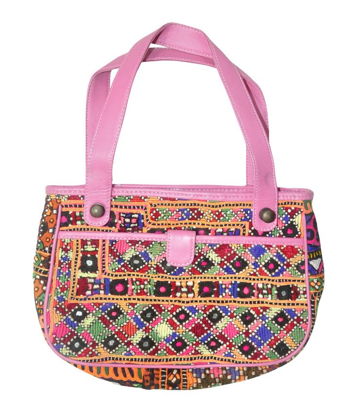 Gorgeous Indian Vintage Embroidered Decor Women's Purse Christmas Special Gift #Lalhaveli #CosmeticBags