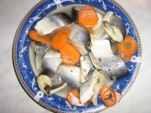 Hering marinat cu legume - imagine 1 mare