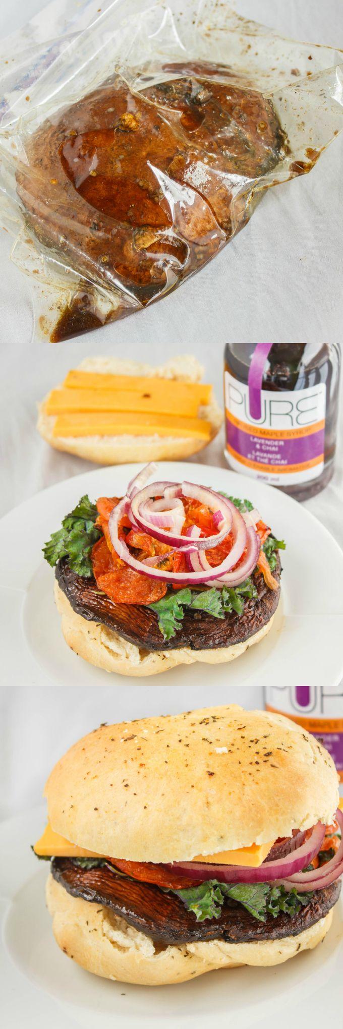 Tutorial How to Make and Grill Portobello Mushroom Burgers 1