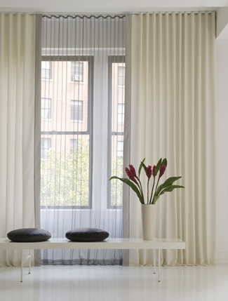 13 Best Layered Ripplefold Window Treatments Images On