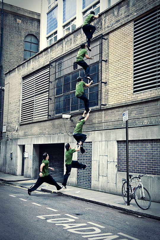 Parkour Gallery – Are You Sure People Don't Fly?