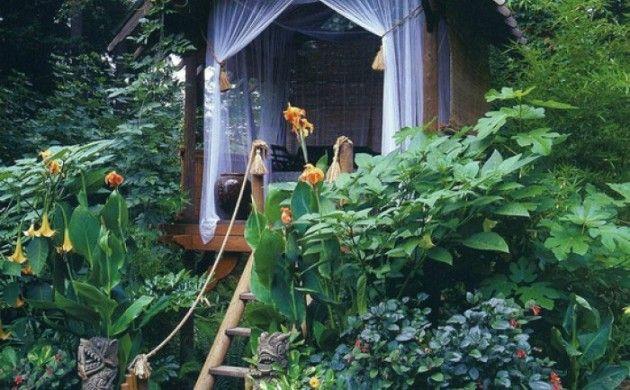 gartenhaus ideen holzhaus selber bauen gartengestaltung gartenpflanzen