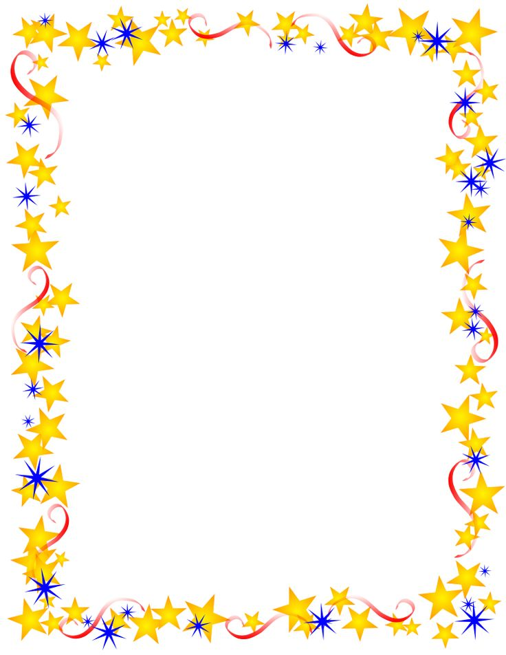 Free Star Border Clip Art | Free Borders and Clip Art | Downloadable Free Stars…