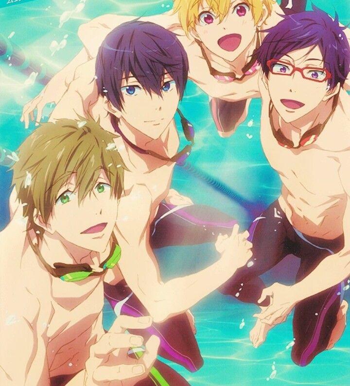 Free! - Iwatobi Swim Club (Day 134: Favorite Sports Anime)