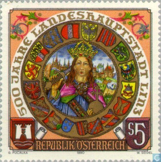 Postage Stamps - Austria [AUT] - Linz 500 years