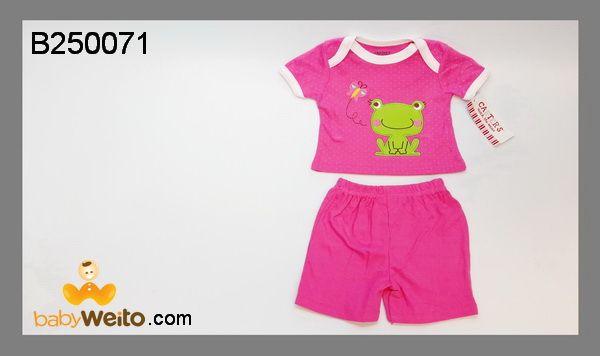 B250071  Baju setelan cewe Kodok  Bahan halus dan lembut  Warna sesuai gambar  IDR 90*