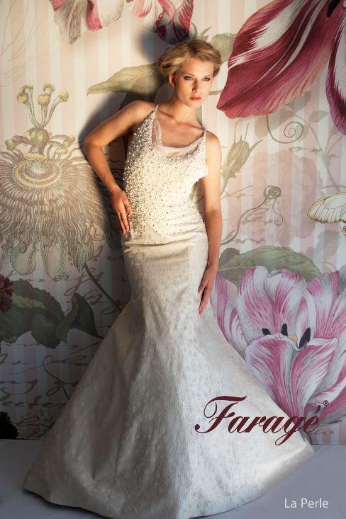 Faragé Wedding Gown - La Perle