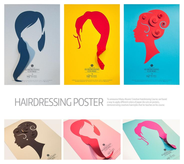 Manu Alvares: Hairdressing courses   Ads of the World™