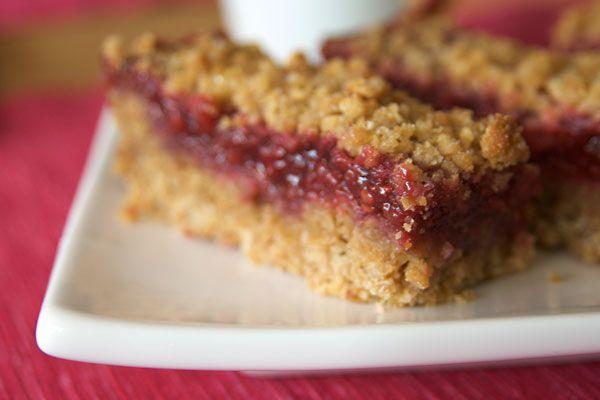 apple raspberry bars | food | Pinterest