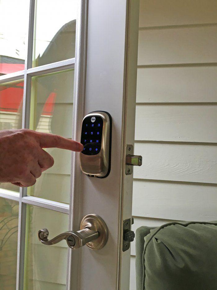 keyless door number pad
