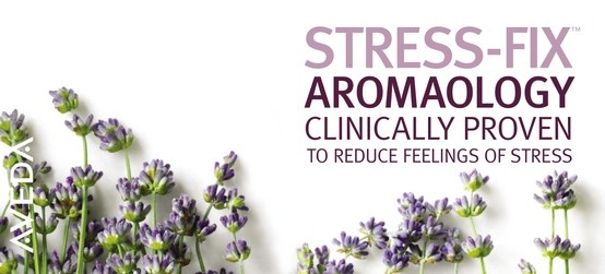#Lavender in #Aveda Stress Fix products