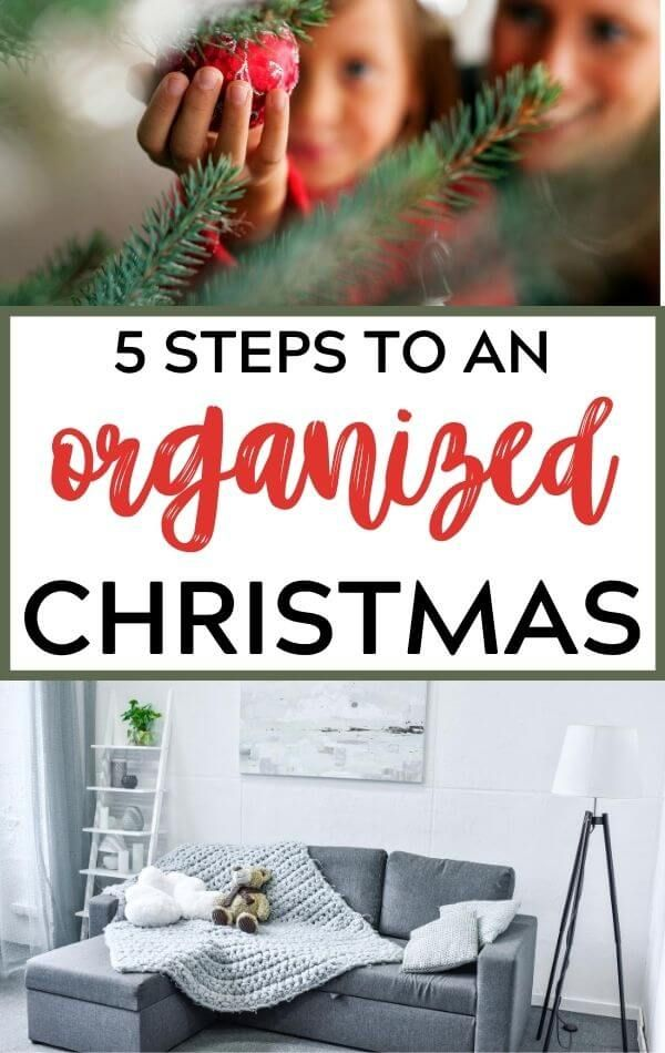How to Have an Organized Christmas in 5 Simple Steps in 2020