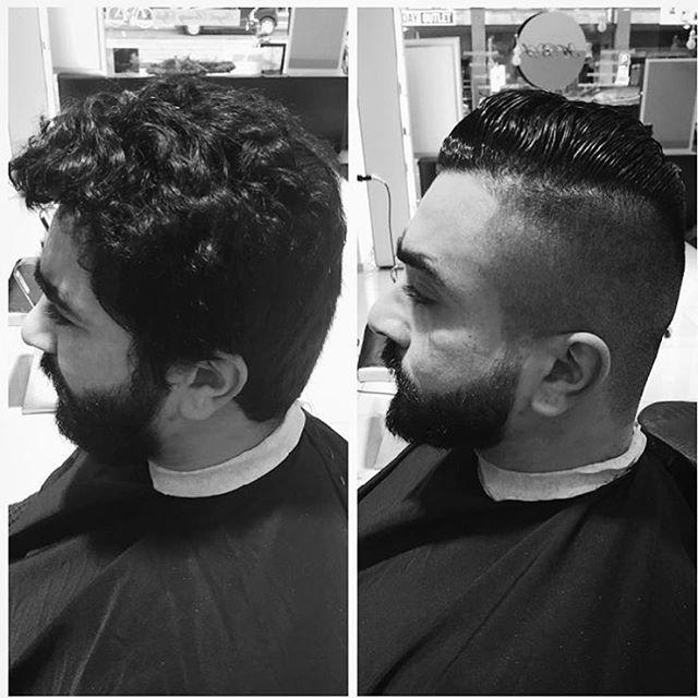 Barbershop Papillon in Ede. #barbier #Ede #Boost #Papillon #haar #en #baard #trimmen #change #before #after