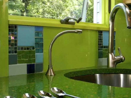14 Beautiful Metal Backsplash Tiles For Kitchens Pictures