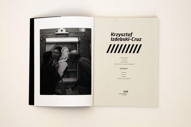 """design: Artur Skowronski """"Krzysztof Izdebski-Kruz""""  Wydawca: Galeria Miejska  Wrocław 2014"""