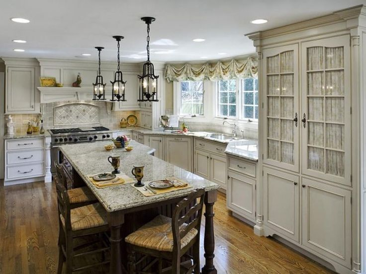 Best 25 Country L Shaped Kitchens Ideas On Pinterest  L Shaped Adorable L Shaped Country Kitchen Designs Inspiration