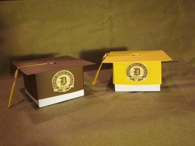 Boxes for graduation gifts