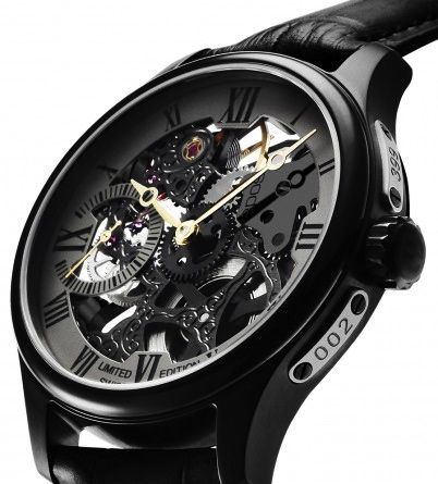 Epos skeleton watch limited edition 399 pieces worldwide €2500,- for €1250,- www.megawatchoutlet.com