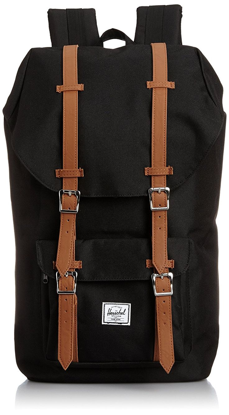 Amazon.com | Herschel Supply Co. Little America Backpack, Black, One Size | Casual Daypacks