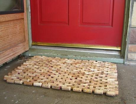 35 best images about doors on pinterest dutch door the for Wine cork welcome mat