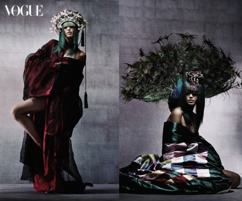 Vogue Editorials, Hanbok and Modernism
