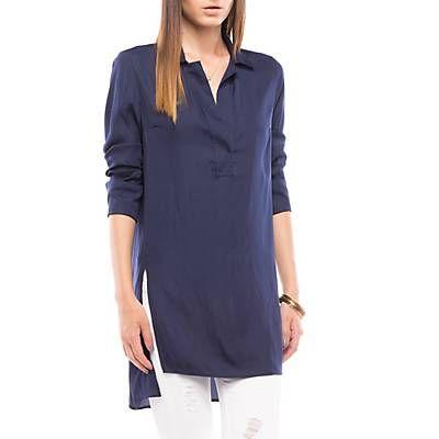 Me gustó este producto Basement Blusa Espalda Larga Azul. ¡Lo quiero!