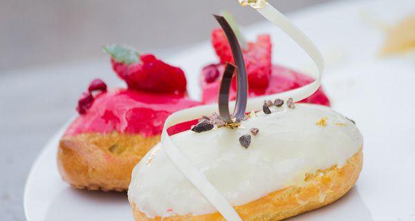 Ecco la ricetta originale degli eclair di Ernst Knam a Bake Off Italia.