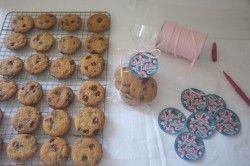 Recette sans gluten des cookies au chocolat de William