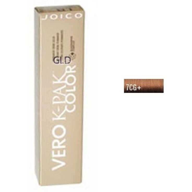 Joico Age Defy Vero K-Pak Color 7CG  (Dark Copper Golden Blonde) -- Details can be found by clicking on the image. (This is an affiliate link and I receive a commission for the sales)