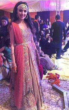 Pakistani ensemble by Saira Shakira.