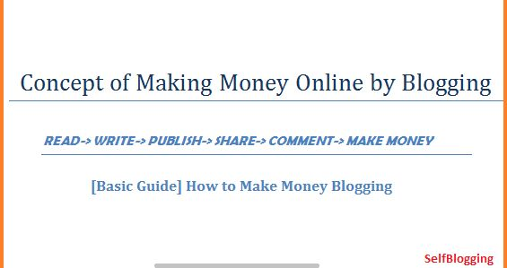 Very Important Concept of Making Money Online by Blogging