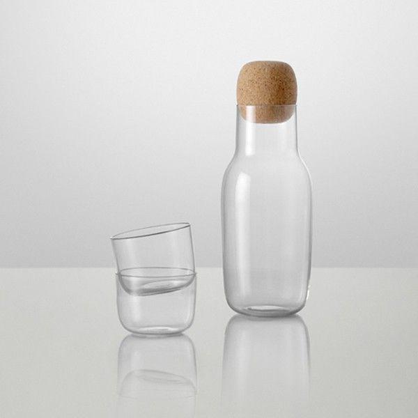 Muuto Corky karaffel og 2.pk. glass
