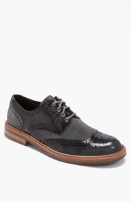 Kenneth Cole New York White Wall Spectator Shoe