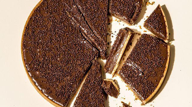 La tarte au gianduja de Cyril Lignac