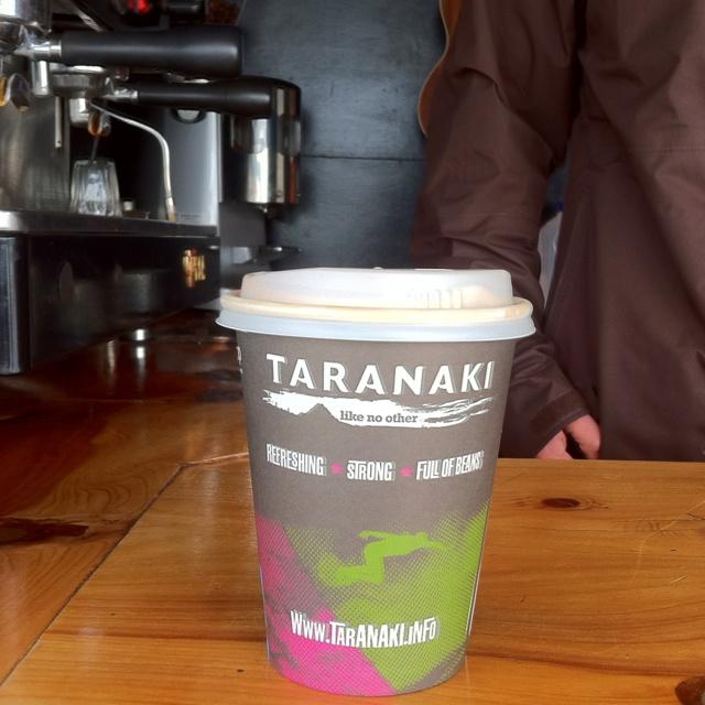 Taranaki Bio Coffee Cup, New Zealand