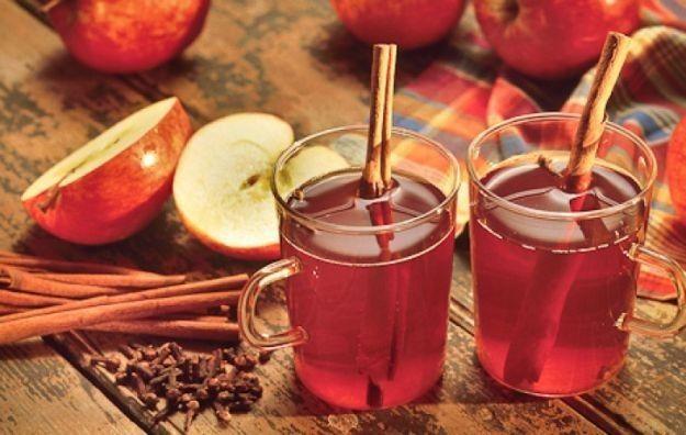 Vin brulè analcolico al succo di mele