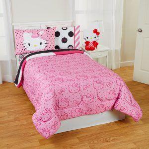 Hello Kitty Twin Size Bedroom Set
