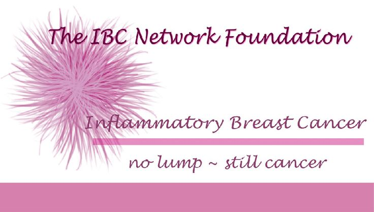 The Inflammatory breast cancer blog are mistaken