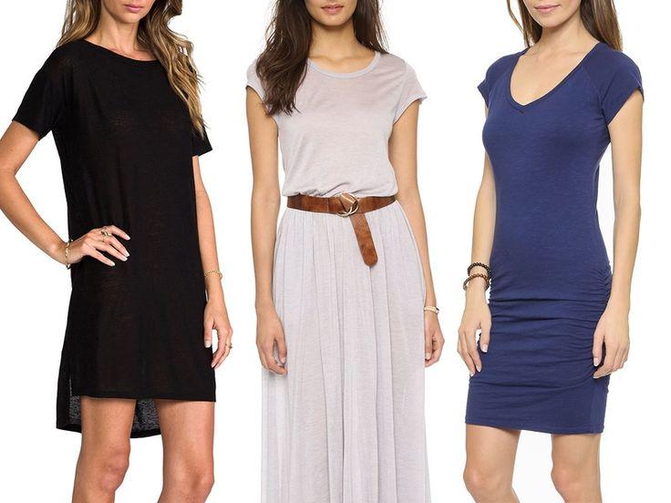 Rank & Style - Best T-shirt Dresses #rankandstyle