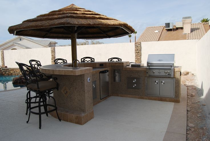 outdoor barbecue kitchen islands    Source for Outdoor