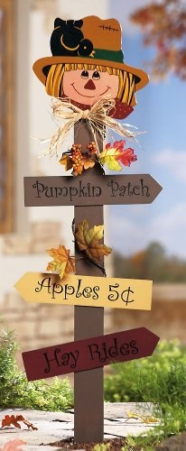 Harvest Scarecrow Garden Sign Stake Decoration By Collections Etc by Collections, http://www.amazon.com/dp/B005EH0K3Q/ref=cm_sw_r_pi_dp_dsQvqb052J4NV