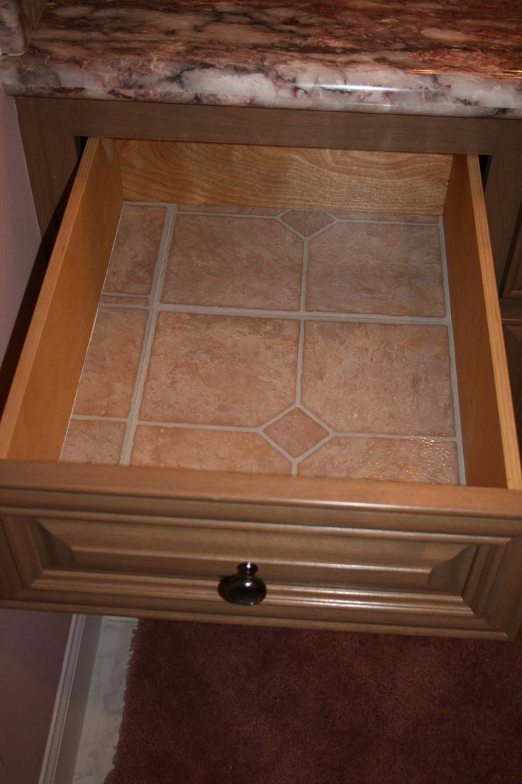 I Use Linoleum Floor Tiles Instead Of Contact Paper To