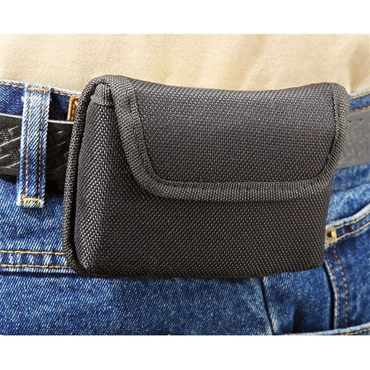 Bulldog® Ambi Cell Phone Gun Holster with Belt Loop & Clip